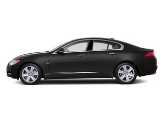 Pearl Grey 2011 Jaguar XF Pictures XF Sedan 4D Supercharged photos side view