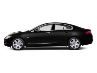 Ultimate Black 2011 Jaguar XF Pictures XF Sedan 4D XFR Supercharged photos side view