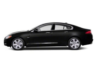 Ultimate Black 2011 Jaguar XF Pictures XF Sedan 4D photos side view