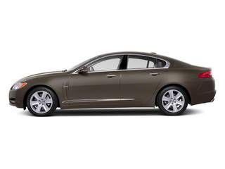 Vapour Grey 2011 Jaguar XF Pictures XF Sedan 4D photos side view