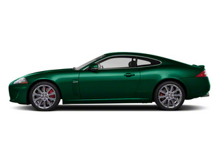 Botanical Green 2011 Jaguar XK Pictures XK Coupe 2D XKR Supercharged photos side view