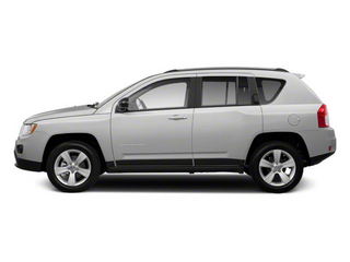 Bright Silver Metallic 2011 Jeep Compass Pictures Compass Utility 4D Latitude 4WD photos side view