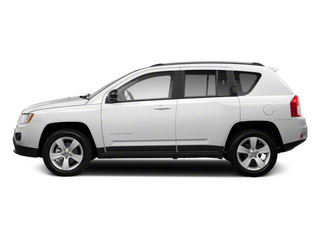 Bright White 2011 Jeep Compass Pictures Compass Utility 4D Latitude 4WD photos side view