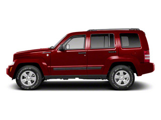Deep Cherry Red Crystal Pearl 2011 Jeep Liberty Pictures Liberty Utility 4D Sport 4WD photos side view