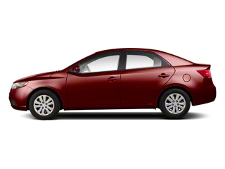 Spicy Red Metallic 2011 Kia Forte Pictures Forte Sedan 4D SX photos side view