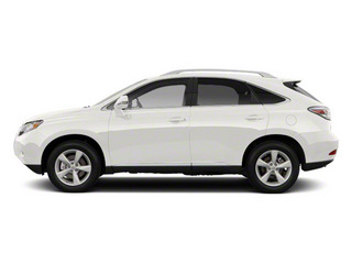 Starfire Pearl 2011 Lexus RX 450h Pictures RX 450h Utility 4D AWD photos side view