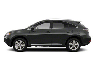 Smoky Granite Mica 2011 Lexus RX 450h Pictures RX 450h Utility 4D AWD photos side view