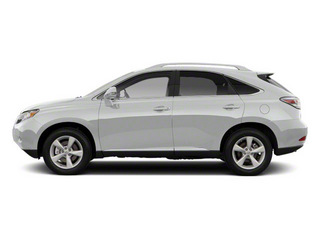 Tungsten Pearl 2011 Lexus RX 450h Pictures RX 450h Utility 4D AWD photos side view