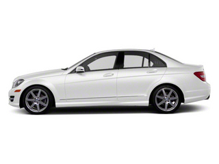 Arctic White 2011 Mercedes-Benz C-Class Pictures C-Class Sport Sedan 4D C350 photos side view