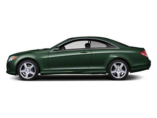Jade Green Metallic 2011 Mercedes-Benz CL-Class Pictures CL-Class Coupe 2D CL63 AMG photos side view