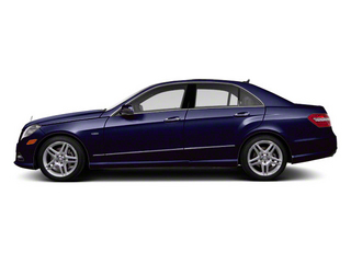 Designo Mystic Blue Metallic 2011 Mercedes-Benz E-Class Pictures E-Class Sedan 4D E550 AWD photos side view