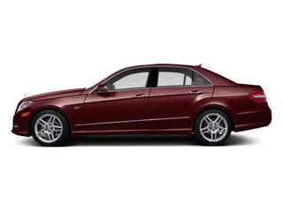 Designo Mystic Red Metallic 2011 Mercedes-Benz E-Class Pictures E-Class Sedan 4D E550 AWD photos side view
