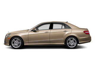 Pearl Beige Metallic 2011 Mercedes-Benz E-Class Pictures E-Class Sedan 4D E550 AWD photos side view