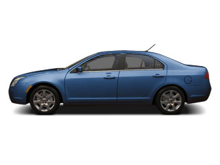 Blue Flame Metallic 2011 Mercury Milan Pictures Milan Sedan 4D photos side view