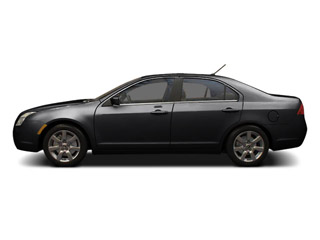 Tuxedo Black Metallic 2011 Mercury Milan Pictures Milan Sedan 4D photos side view