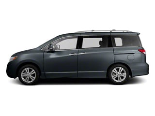 Twilight Gray 2011 Nissan Quest Pictures Quest Van 3.5 S photos side view