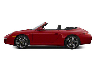 Ruby Red Metallic 2011 Porsche 911 Pictures 911 Cabriolet 2D S photos side view
