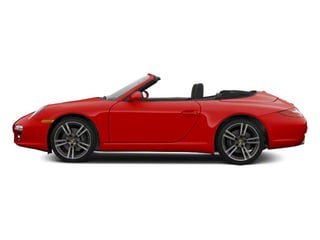 Guards Red 2011 Porsche 911 Pictures 911 Cabriolet 2D photos side view