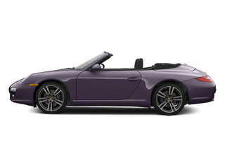 Amethyst Metallic 2011 Porsche 911 Pictures 911 Cabriolet 2D photos side view