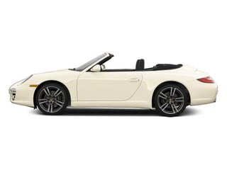 Cream White 2011 Porsche 911 Pictures 911 Cabriolet 2D photos side view