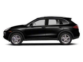 Jet Black Metallic 2011 Porsche Cayenne Pictures Cayenne Utility 4D S AWD (V8) photos side view