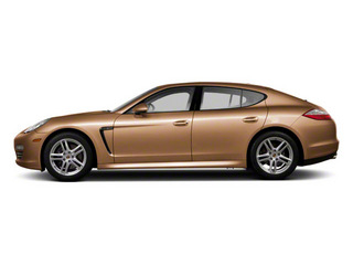 Luxor Beige Metallic 2011 Porsche Panamera Pictures Panamera Hatchback 4D photos side view