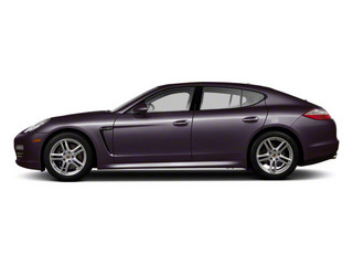 Amethyst Metallic 2011 Porsche Panamera Pictures Panamera Hatchback 4D photos side view