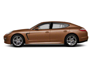 Cognac Metallic 2011 Porsche Panamera Pictures Panamera Hatchback 4D photos side view