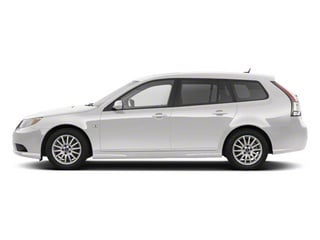 Arctic White 2011 Saab 9-3 Pictures 9-3 Wagon 5D SportCombi Turbo photos side view