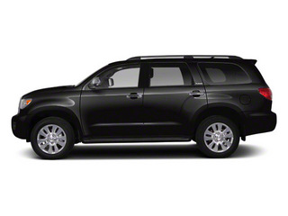 Black 2011 Toyota Sequoia Pictures Sequoia Utility 4D Limited 4WD photos side view
