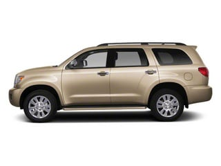 Sandy Beach Metallic 2011 Toyota Sequoia Pictures Sequoia Utility 4D Limited 4WD photos side view