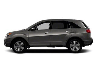 Grigio Metallic 2012 Acura MDX Pictures MDX Utility 4D Technology AWD photos side view