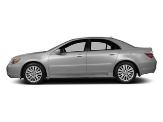 Forged Silver Metallic 2012 Acura RL Pictures RL Sedan 4D Technology photos side view