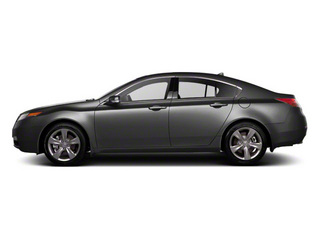 Graphite Luster Metallic 2012 Acura TL Pictures TL Sedan 4D Technology AWD photos side view