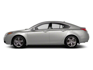 Silver Moon 2012 Acura TL Pictures TL Sedan 4D Advance AWD photos side view