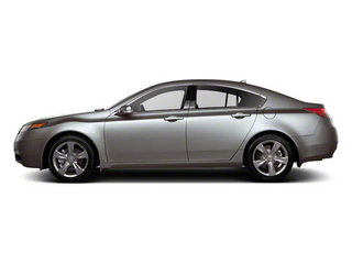 Forged Silver Metallic 2012 Acura TL Pictures TL Sedan 4D Advance AWD photos side view
