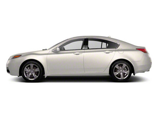 Bellanova White Pearl 2012 Acura TL Pictures TL Sedan 4D Technology AWD photos side view