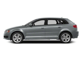 Monza Silver Metallic 2012 Audi A3 Pictures A3 Hatchback 4D TDI photos side view