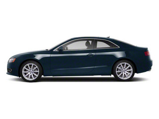Moonlight Blue Metallic 2012 Audi A5 Pictures A5 Coupe 2D Quattro photos side view