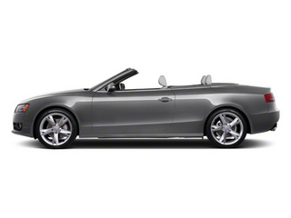Monsoon Gray Metallic 2012 Audi A5 Pictures A5 Convertible 2D Premium Plus photos side view