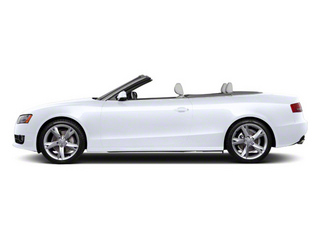 Glacier White Metallic 2012 Audi A5 Pictures A5 Convertible 2D Premium Plus photos side view
