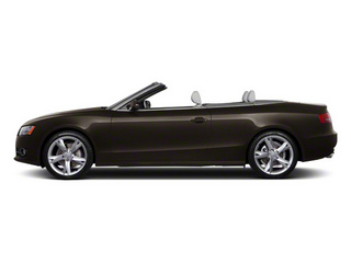 Teak Brown Metallic 2012 Audi A5 Pictures A5 Convertible 2D Premium Plus photos side view