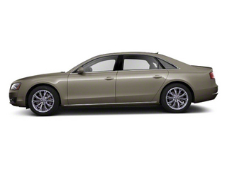 Savana Beige Pearl 2012 Audi A8 L Pictures A8 L Sedan 4D 4.2 Quattro L photos side view