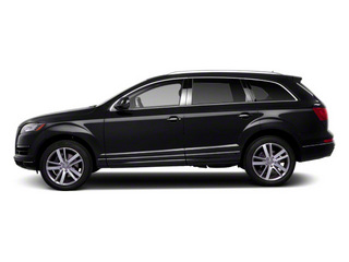 Orca Black Metallic 2012 Audi Q7 Pictures Q7 Utility 4D 3.0 TDI Prestige S-Line A photos side view