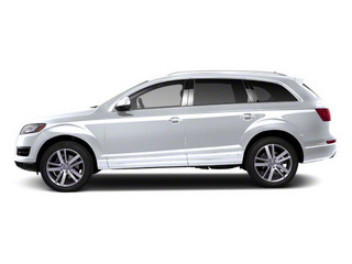 Glacier White Metallic 2012 Audi Q7 Pictures Q7 Utility 4D 3.0 TDI Prestige S-Line A photos side view
