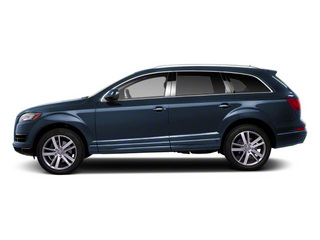 Mugello Blue Pearl 2012 Audi Q7 Pictures Q7 Utility 4D 3.0 TDI Prestige S-Line A photos side view