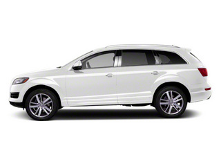 Ibis White 2012 Audi Q7 Pictures Q7 Utility 4D 3.0 TDI Prestige S-Line A photos side view