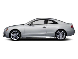 Ice Silver Metallic 2012 Audi S5 Pictures S5 Coupe 2D Quattro photos side view