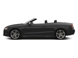 Monsoon Gray Metallic 2012 Audi S5 Pictures S5 Convertible 2D Quattro photos side view
