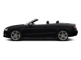 Brilliant Black 2012 Audi S5 Pictures S5 Convertible 2D Quattro photos side view